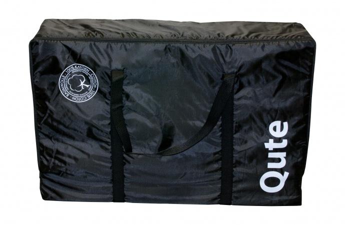 Qute Matras Voor Campingbed Zwart