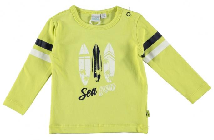 Babylook T-Shirt Sea Wild Lime