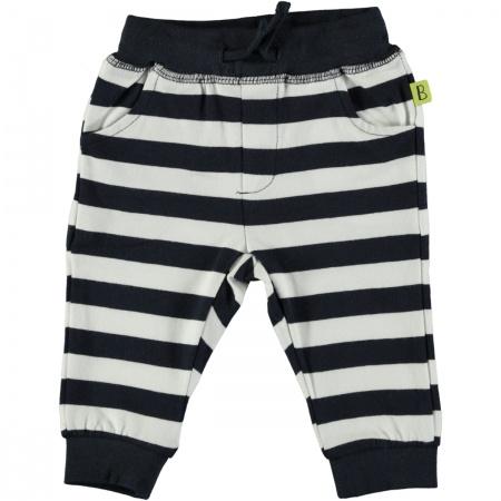 Babylook Broek Stripe Navy