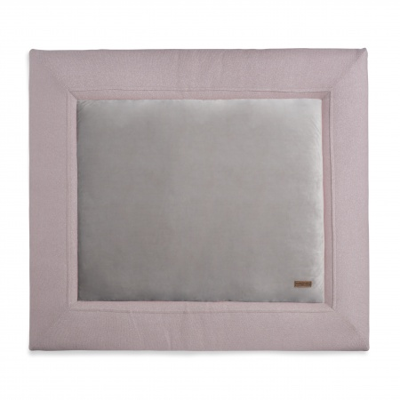 Baby's Only Boxkleed Sparkle Zilver-Roze Mêlee   85 x 100 cm
