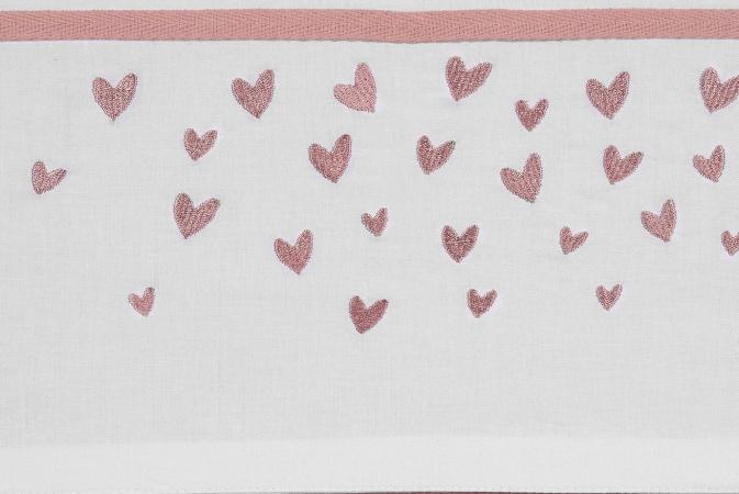 Meyco Laken Hearts Oudroze<br> 75 x 100 cm