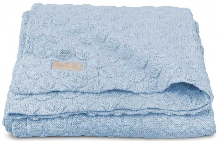 Jollein Deken Fancy Knit Soft Baby Blue 100 x 150 cm