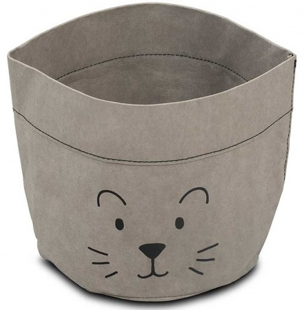 Commodemandje Paper Little Lion Grey