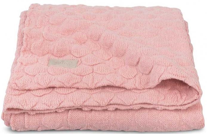 Jollein Deken Fancy Knit Soft Blush Pink  75 x 100 cm