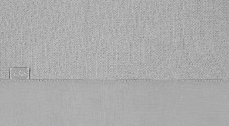 Jollein Laken Tiny Waffle Soft Grey 75 x 100 cm
