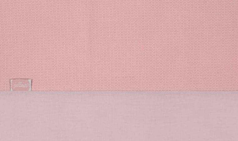 Jollein Laken Tiny Waffle Soft Pink 75 x 100 cm