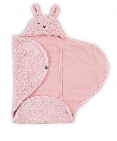 e255b7c63a1 Jollein Wikkeldeken Bunny Pink | Wikkeldekens / Swaddles | Baby-Dump