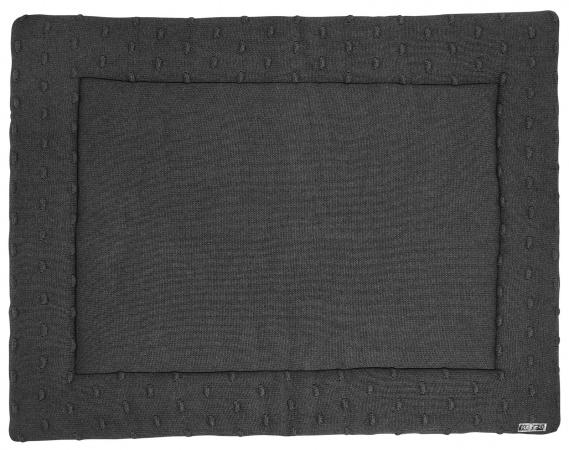 Meyco Boxkleed Knots Donkergrijs<br> 77 x 97 cm