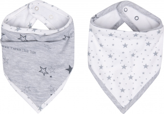 Bébé-Jou Bandana Slabber (Set 2 Stuks) Little Star