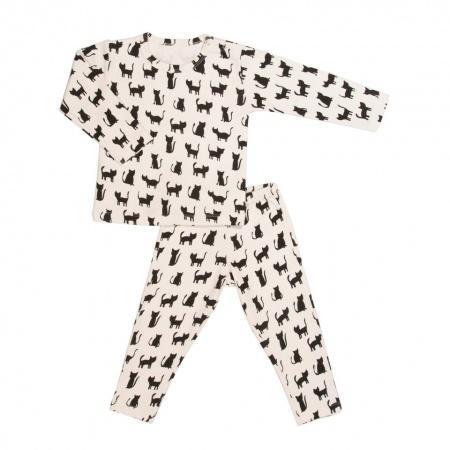 Trixie Pyjama 2 Pieces Cats