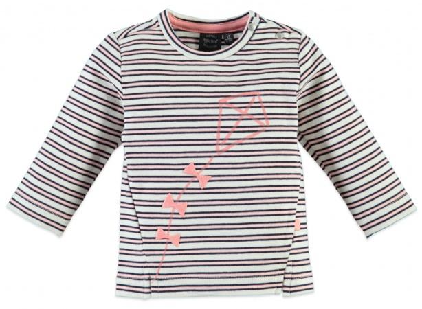 Babyface T-Shirt Stripe Creme