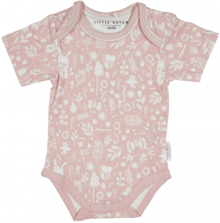 Little Dutch Romper Korte Mouw Adventure Pink