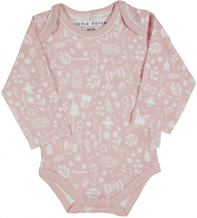 Little Dutch Romper Lange Mouw Adventure Pink