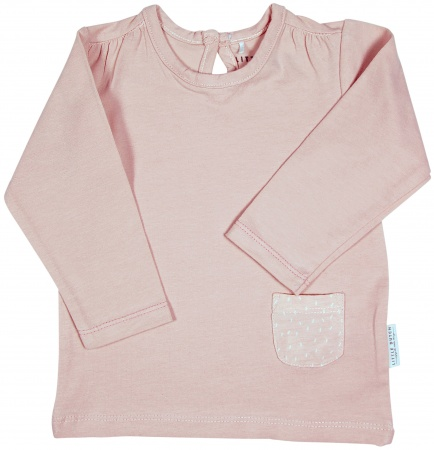 Little Dutch T-Shirt Pocket Pink