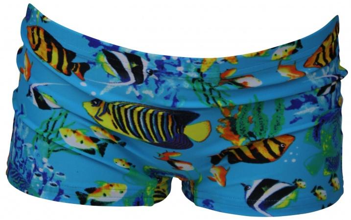 2830ab7ca1cd65 Lentiggini Zwembroek Fish Blue   Zwemkleding   Baby-Dump