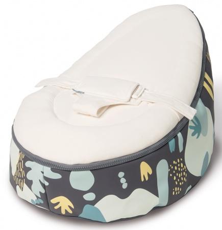 Doomoo Zitzak Blauw.Doomoo Seat Vegetal Blue Doomoo Seat Baby Dump