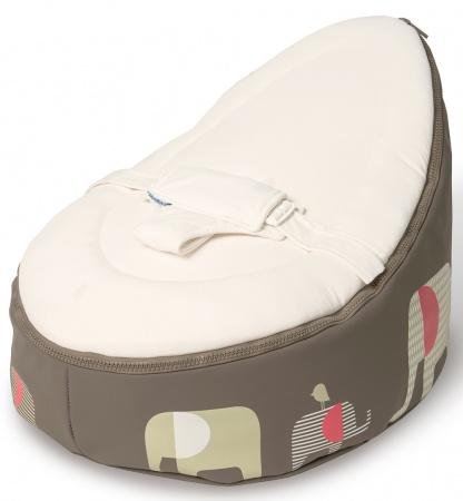 Doomoo Zitzak Rood.Doomoo Seat Elephant Taupe Doomoo Seat Baby Dump