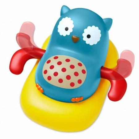 Skip Hop Zoo Bath Paddle & Go Owl