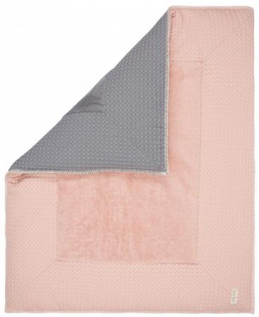 Koeka Boxkleed Wafel Amsterdam Shadow Pink 75 x 95 cm