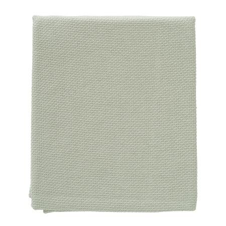 Cottonbaby Ledikantdeken Zomer Diamond Wafel Oudgroen<br> 120 x 150 cm