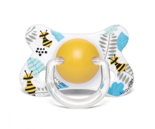 Suavinex Fopspeen Fusion Bee Yellow 4-18mnd