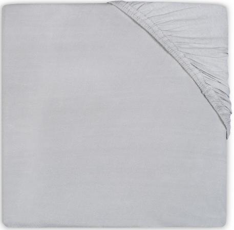 Little Lemonade Hoeslaken Jersey Soft Grey  40 x 80 cm
