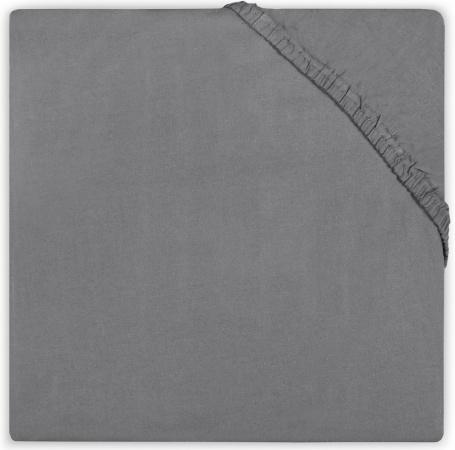 Little Lemonade Hoeslaken Jersey Dark Grey  70 x 140/150 cm