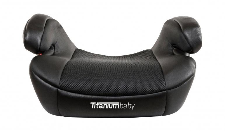 Titaniumbaby i Safety ! Finn Isofix Booster Zwart