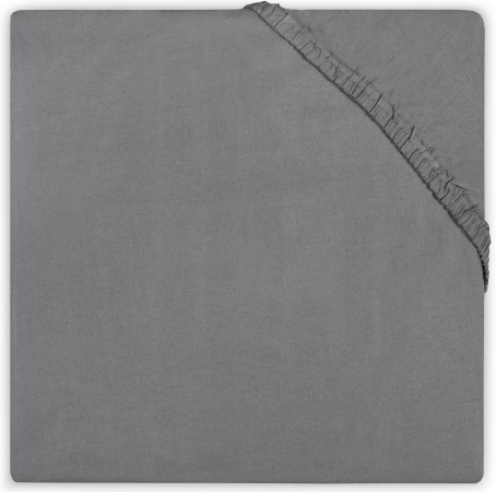 BD Collection Hoeslaken Jersey Dark Grey  70 x 140/150 cm