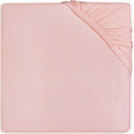 BD Collection Hoeslaken Jersey Soft Pink  70 x 140/150 cm