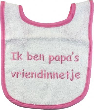 Slabber Papa's Vriendinnetje Roze