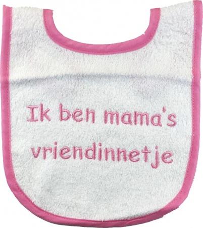 Slabber Mama's Vriendinnetje Roze