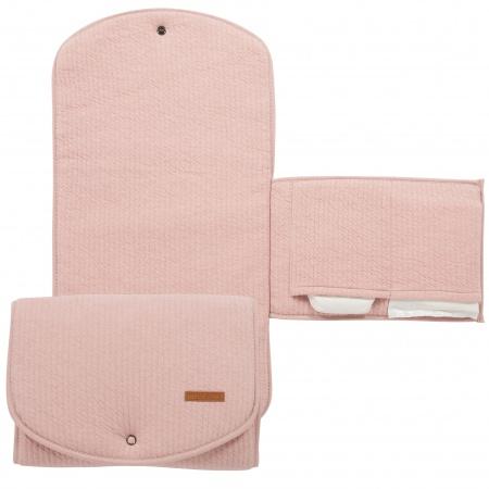 Little Dutch Verschoningsmat Pure Pink <br>60 x 36 cm