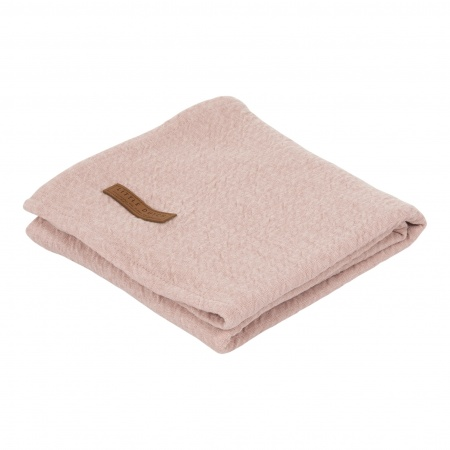 Little Dutch Swaddle Pure Pink <br> 120 x 120