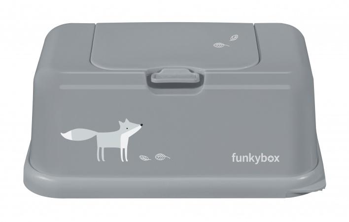 Funkybox Matte Grey Funky Fox