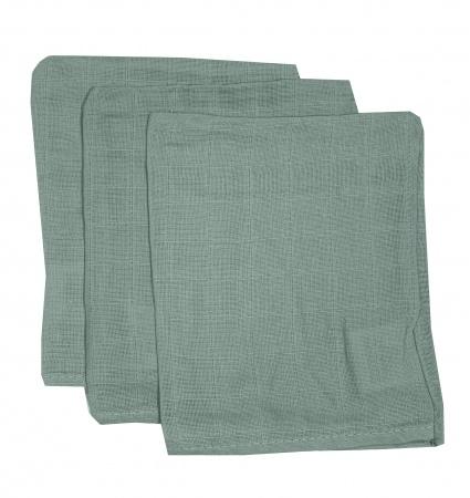 Briljant Hydrofiele Washandjes Gray Mist (3 stuks)