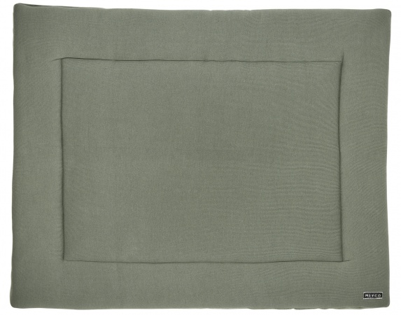 Meyco Boxkleed Knit Basic Forest Green<br> 77 x 97 cm
