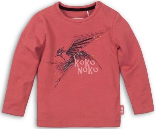 Koko Noko T-Shirt Bird Ash Rose