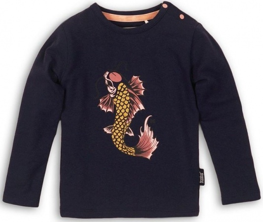 Koko Noko T-Shirt Fish Dark Blue