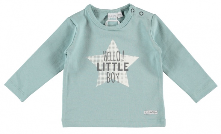 Babylook T-Shirt Boy Blue Surf