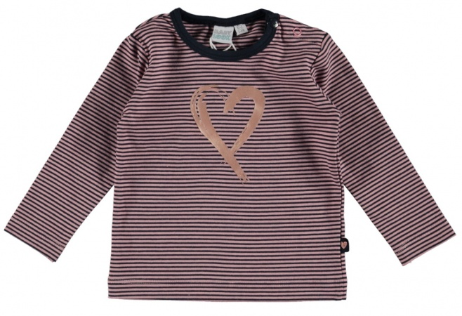 Babylook T-Shirt Copper Stripe
