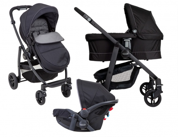 Graco® Evo Trio Black Grey