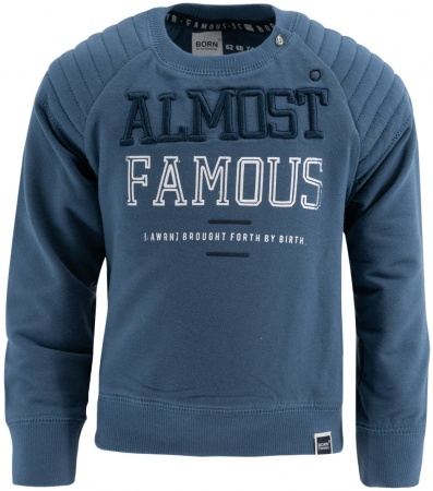 Born To Be Famous Trui Jeans Blue