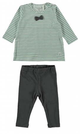 Bampidano 2-Delige Set Stripe Green
