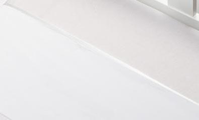 Briljant Laken Bies Wit<br/ > 75 x 100 cm
