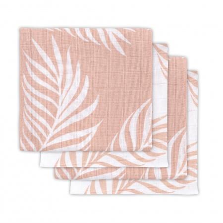 Hydrofiele Multidoek Small 70x70 Nature Pale Pink 4pck
