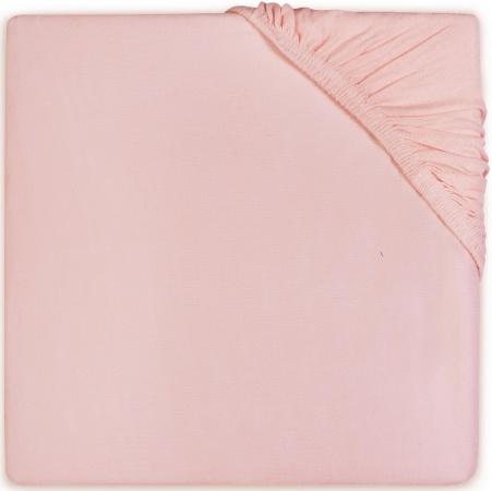 Jollein Hoeslaken Boxmatras Jersey Soft Pink 75 x 95 cm