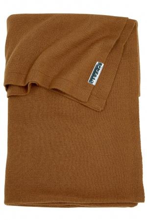 Meyco Deken Knit Basic Camel<br> 75 x 100 cm