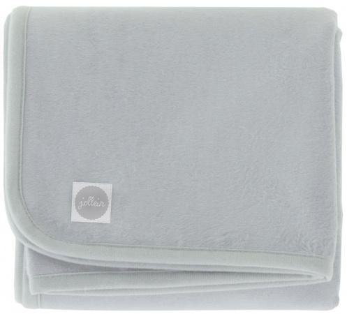 Jollein Deken Soft Grey <br>  100 x 150 cm