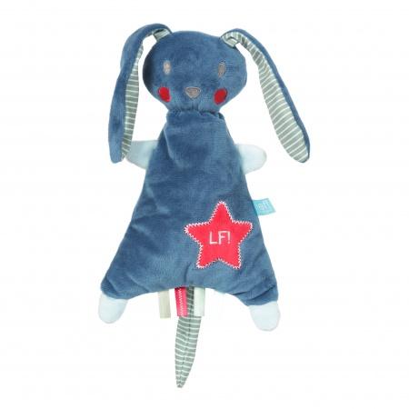 Lief! Knuffel Konijn Dark Blue 24 Cm